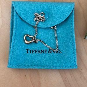 Tiffany &Co.  silver heart